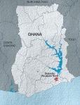 cartina Ghana_Acqua for Life_